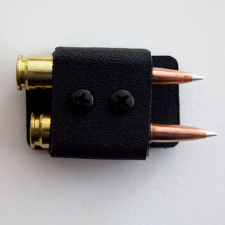 2 Round Quiver in Black (bullets not included)