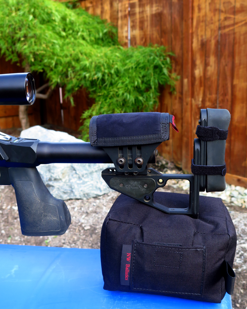 The ultimate rear bag support for your prone and modified prone stages. This bag is a sturdy, heavy fill bag weighting 4.10lbs...
